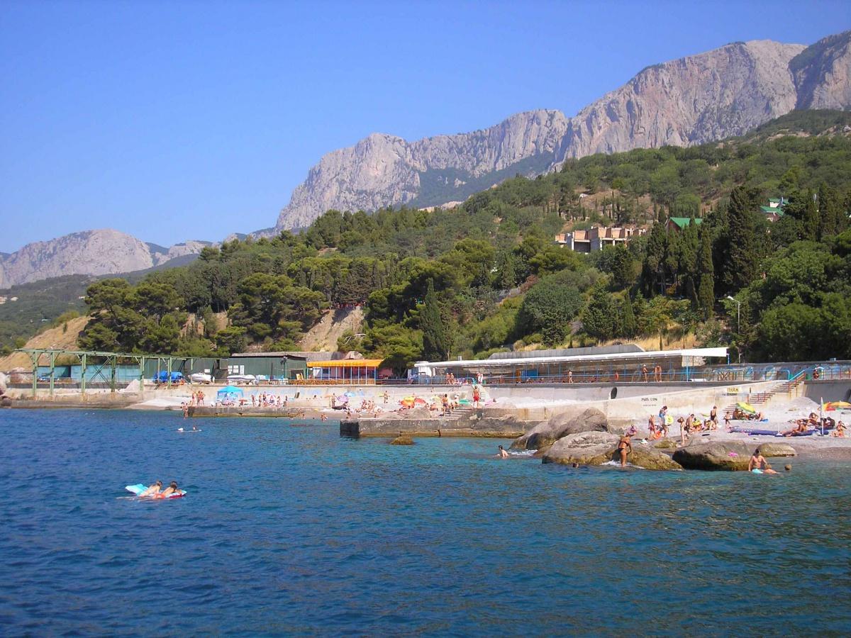 Крым парковое пляжи 47