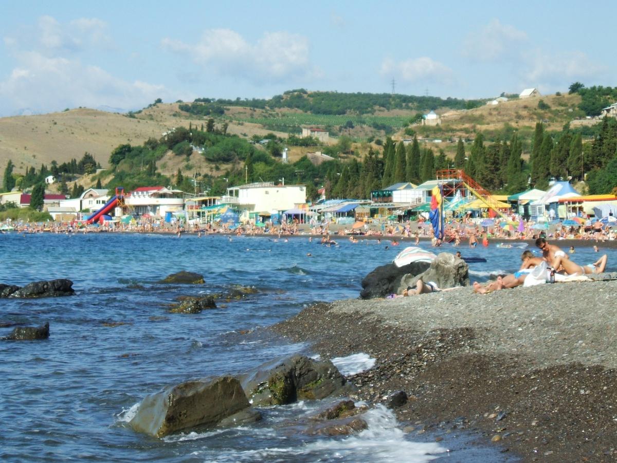 Алушта солнечногорское пляжа 77