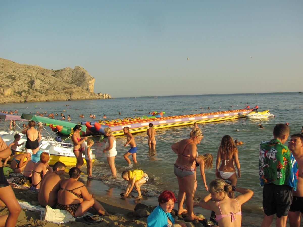 Фото с крымских пляжах