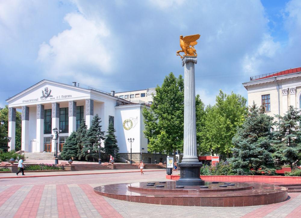 Театр пушкина керчь афиша афиша концертов гринн курск