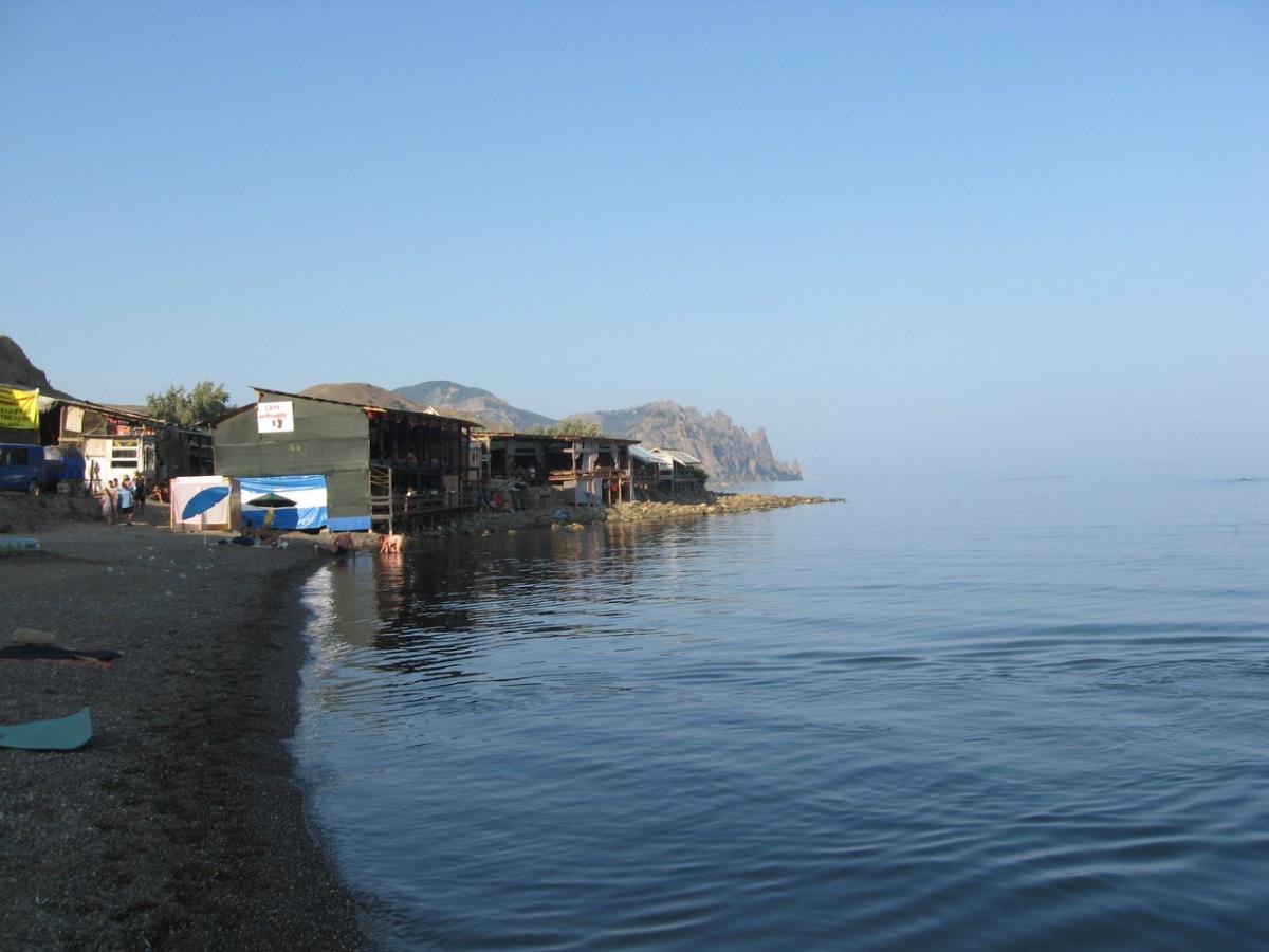 Фото пляжу лисья бухта