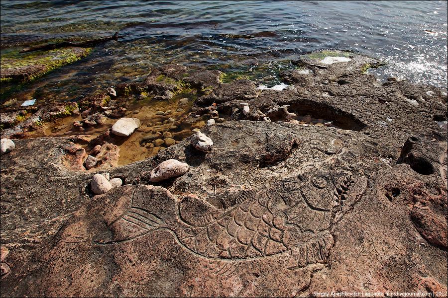 рисунки севастополе каменные в