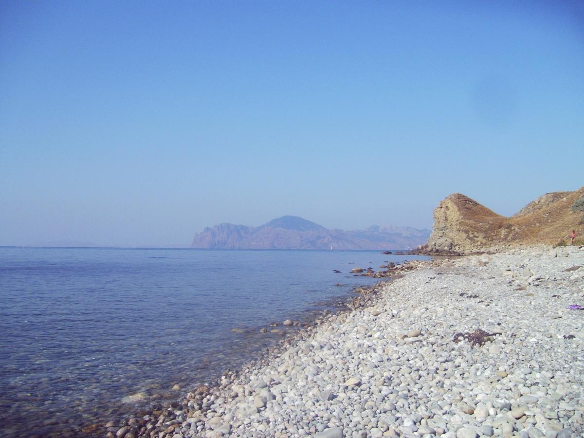 Большие пляжи крыма фото