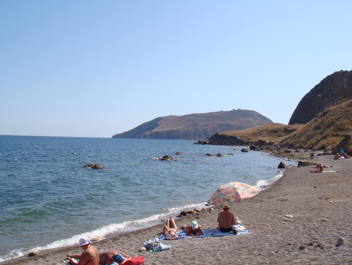 Фото с нудисткого пляжа в крыму