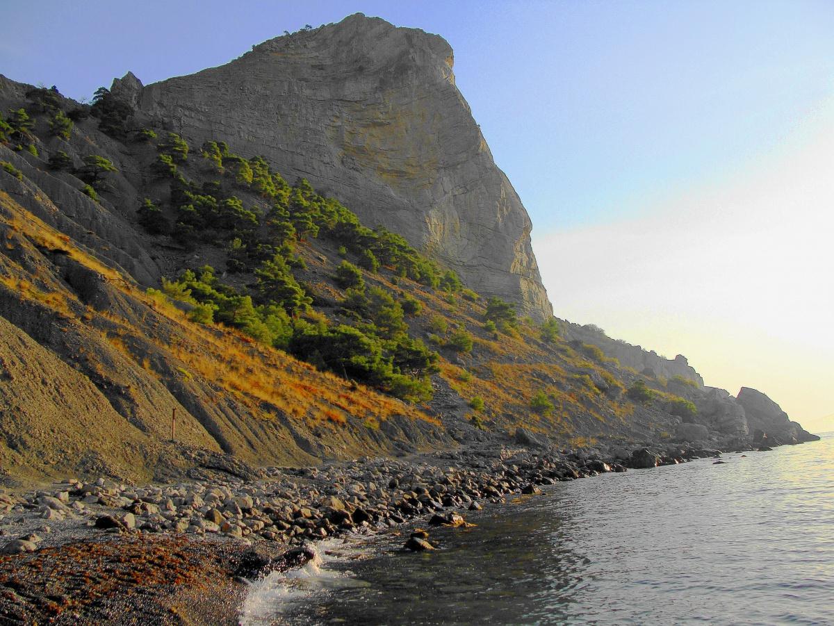 Карадаг гора заповедник на карте Крыма фото и отзывы