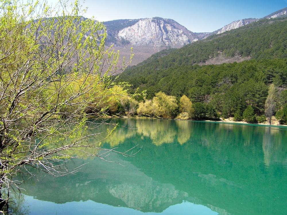 озеро бирюзовое карта
