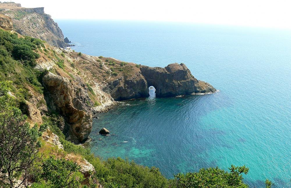 Бухта Ласпи Крым фото пляжи на карте как добраться