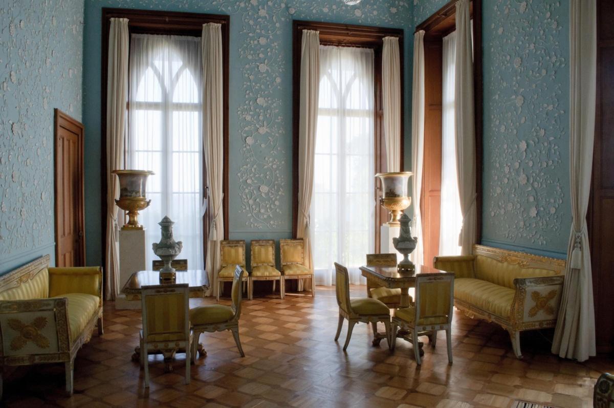 массандровский дворец внутри фото