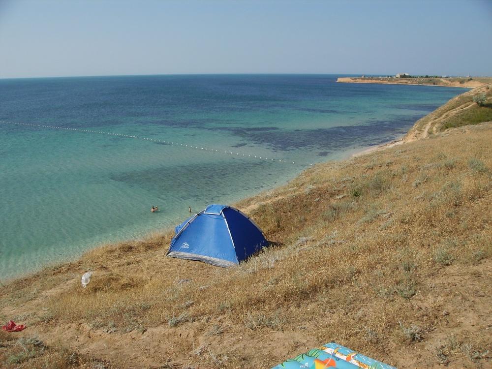 Фото: Пляжи Оленевки, Тарханкут, Крым